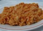 orez brun cu carne de pui