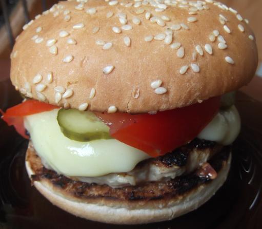 hamburger din carne de porc
