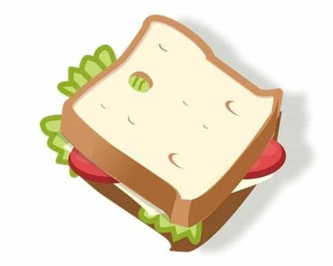 sandvici vegetarian