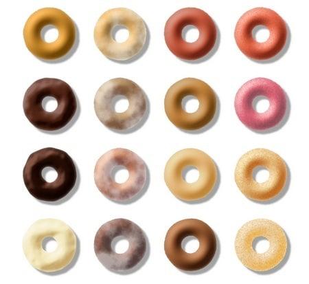 gogosi multicolore