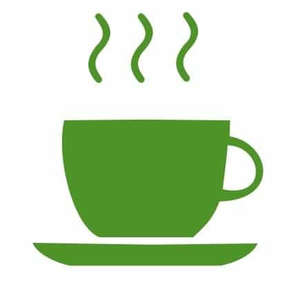 ceasca cu ceai cald