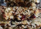 batoane energizante cu fructe uscate și semințe